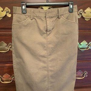 Ralph Lauren Khaki Skirt Size 4